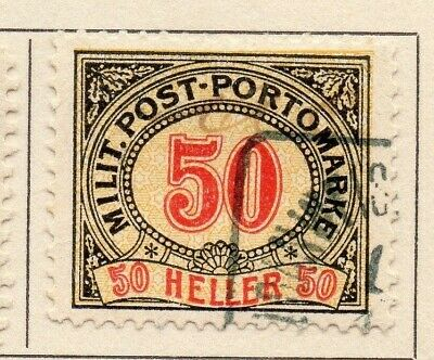Bosnia Herzegovina 1904-08 Early Issue Fine Used 50h. 123846
