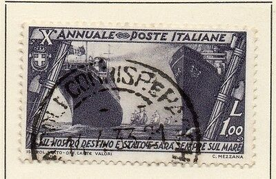Italy 1932 Early Issue Fine Used 1L. 123991