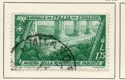 Italy 1932 Early Issue Fine Used 1.25L. 123995
