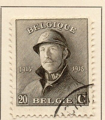 Belgium 1919-20 Early Issue Fine Used 20c. 124067