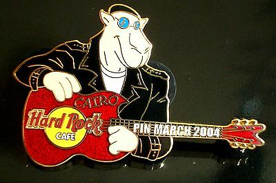 HRC Hard Rock Cafe Cairo Pin March 2004 Camel Guitar LE250