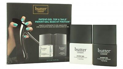 Butter London Patent-Gel Top & Tails Gift Set 11Ml Topcoat + 11Ml Basecoat. New