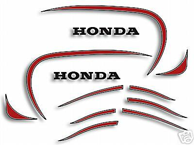 1972 Honda XL250 K0 - gas tank & fender decal set