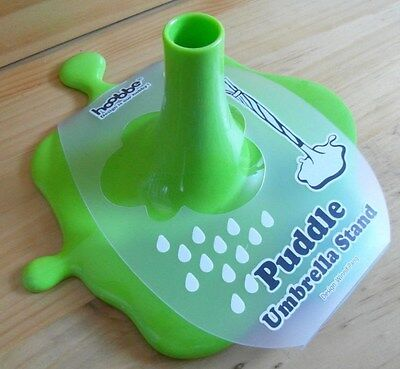Novelty Free Standing Umbrella Stand Fun Puddle Effect  New