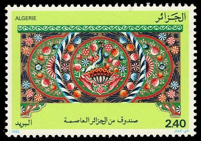 """ALGERIA 686 (Mi797) - Artifacts """"Painted Chest"""" (pa64394)"""