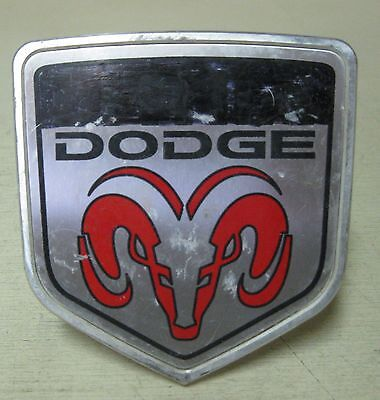 Collectible Red Dodge Ram Hitch Receiver Cover