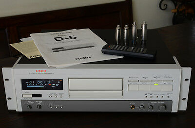FOSTEX D5 Digital Master Recorder DAT - Come nuovo - As New