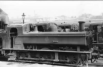 Photo GWR 0-6-0T 1619 at Stourbridge Junction shed yard ?