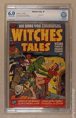 Witches Tales (1951 Harvey) #7 CBCS 6.0
