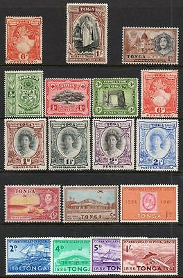 Tonga Selection (18) Fine Mint. Unchecked