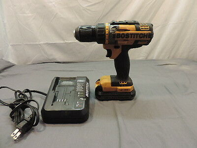 Bostitch 18V  1/2 Drill With 18V Battery And Charger .. Model # Btc400 ^^