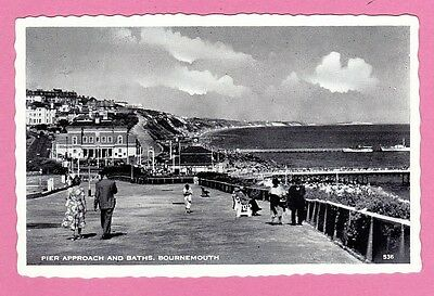 Pier approach and Baths, Bournemouth, Dorset.