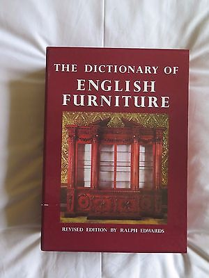 The Dictionary Of English Furniture in Three Volumes. Revised Edition. 1986.