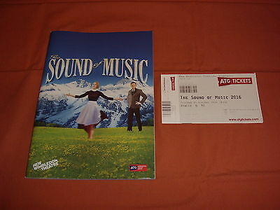 THE SOUND OF MUSIC Musical  2016 London Theatre Programme *BRAND NEW*