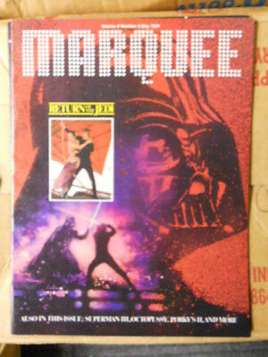 Star Wars Jedi rare movie magazine (only issued in Canada)1983