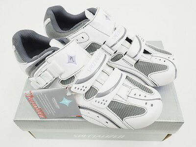 NEW! Specialized Torch Women's Road Cycling Shoes White/Lavender 38Eu/7.5 US