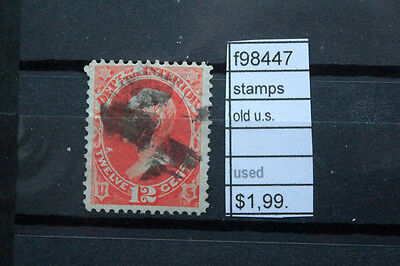 Stamps Old U.s. Used (F98447)