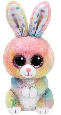 ty-37212 Beanie Boos Glubschie`s *BUBBY - HASE multicolor* 15cm *OSTERN* Limited