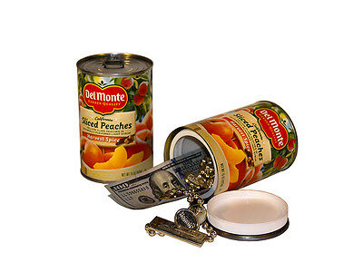 Del Monte Sliced Peaches Can Safe Diversion Safe  Stash Can