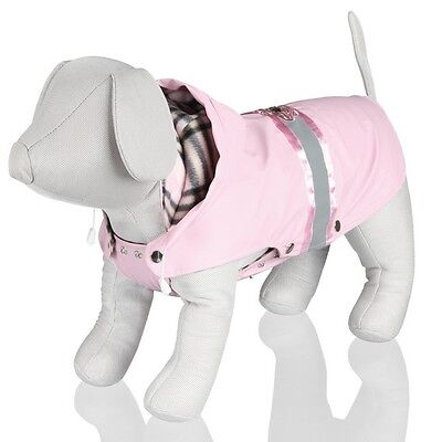 Trixie Dogs Como Warm & Water Repellent Pink Coat For Dogs Puppy Pets
