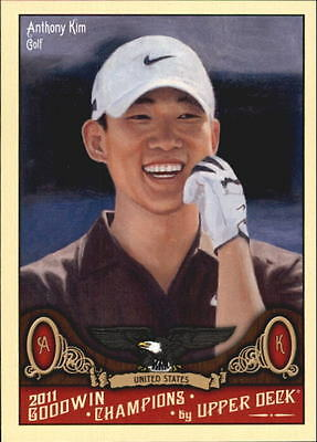 2011 Upper Deck Goodwin Champions #98 Anthony Kim