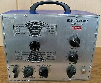 EICO Signal Generator Model 324 with New Switchcraft 2501F Connector