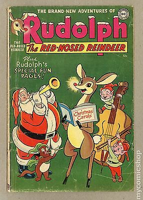Rudolph the Red Nosed Reindeer (1950) #5 GD+ 2.5 LOW GRADE