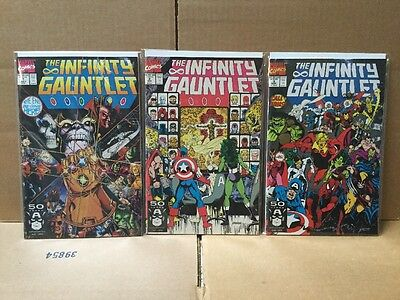 The Infinity Gauntlet #1-6 Missing #5