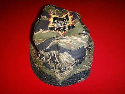 Vietnam War US 5th Special Forces Group HUE 67-70 CCS Tiger Stripe Tropical Hat