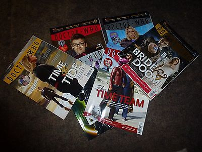 6 Dr Who Magazines