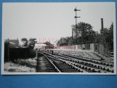 Photo  Bathgate Lower  Railway Station Located On The Bathgate Branch Of The Mon