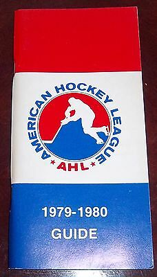 AHL American hockey league Guide 1979-80 148 pages
