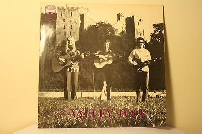 Folk From Ludlow by 3 Valley Folk Rare 1971 Vinyl LP Westwood Recordings