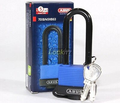 ABUS 70IB/45HB63 Marine Grade Brass & Stainless covered padlock 2-1/2 inch KD