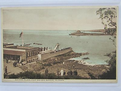 No 2 Bangor Co Down Colour Photo Divers Top Board Pickie View Over Pool & Bay