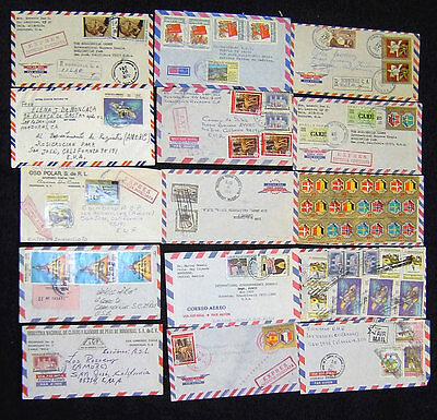 Lot of 57 Honduras Postal History Covers.