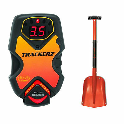BCA Tracker 2 Avalanche Beacon Digital Avy Transceiver & Avalanche Snow Shovel