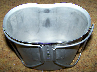 Canteen Cup, Metal, U.s. Issue *nice*