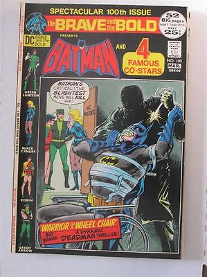 Brave and the Bold (Batman) 100 VF/NM  SKU10304 25% Off!