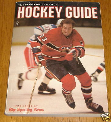 hockey guide the sporting news  1979-80 bob gainey