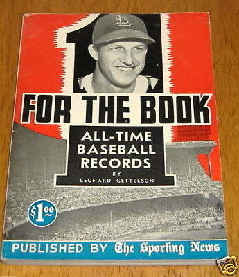the sporting news for the book 1949 first issue