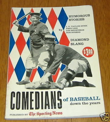 the sporting news  comedians of baseball  1958