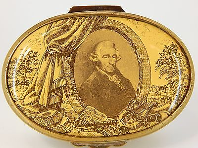 CARTIER HINGED ENAMEL TRINKET BOX - Joseph Haydn Father of the Symphony, No. 276