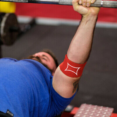 Sling Shot Compression Cuff 2.0 Level 2 Elastic Weightlifting Support - Red