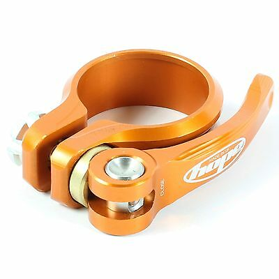 Hope Technology Bike Seat Clamp - Quick Release - Orange - 31.8mm Diameter