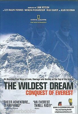 The Wildest Dream: Conquest of Everest DVD Anker, Mallory Brand New All Region