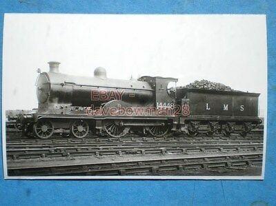 Photo  Caledonian Rly Class '139' 4-4-0  Lms No 14448 On Shed At Perth
