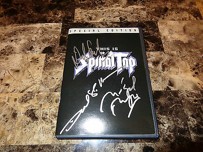 This Is Spinal Tap SIGNED DVD Michael McKean Harry Shearer Christopher Guest