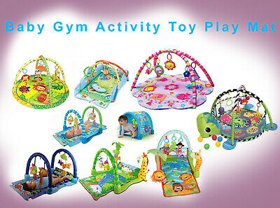 Baby Musical/Ocean/Rainforest/Safari/Playmat Gym Activity Soft Toy Play Mat