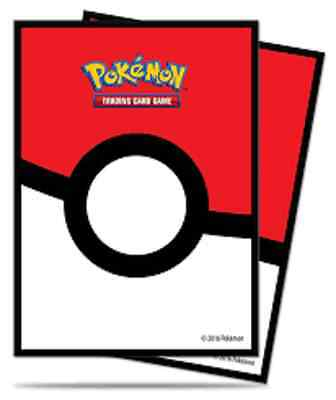 Pokemon - Pokeball Card Sleeves (Ultra Pro) -Sealed Pack of 65